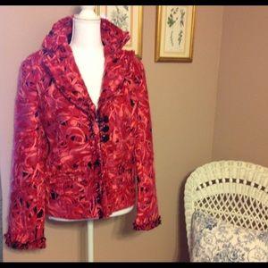 WEAVZ mixed wool effect stunning blazer/jacket.